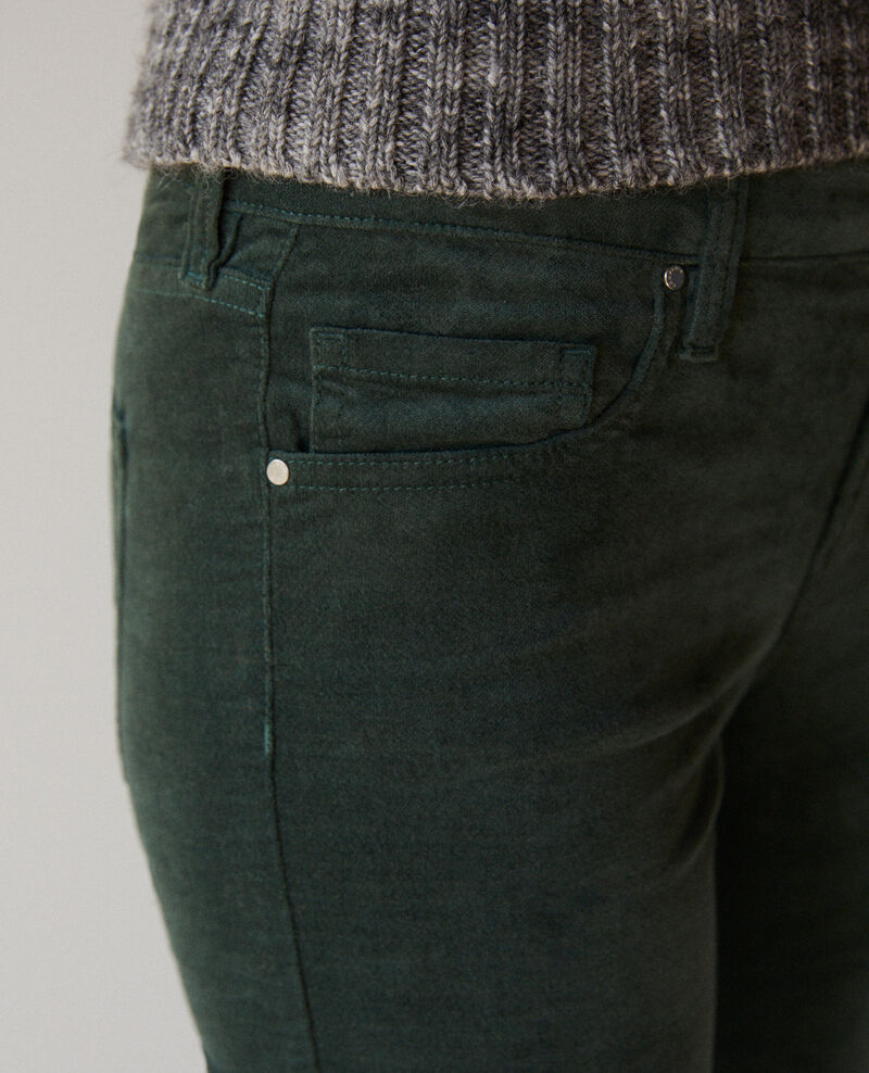 Jeans corte slim Forest green Guillemin