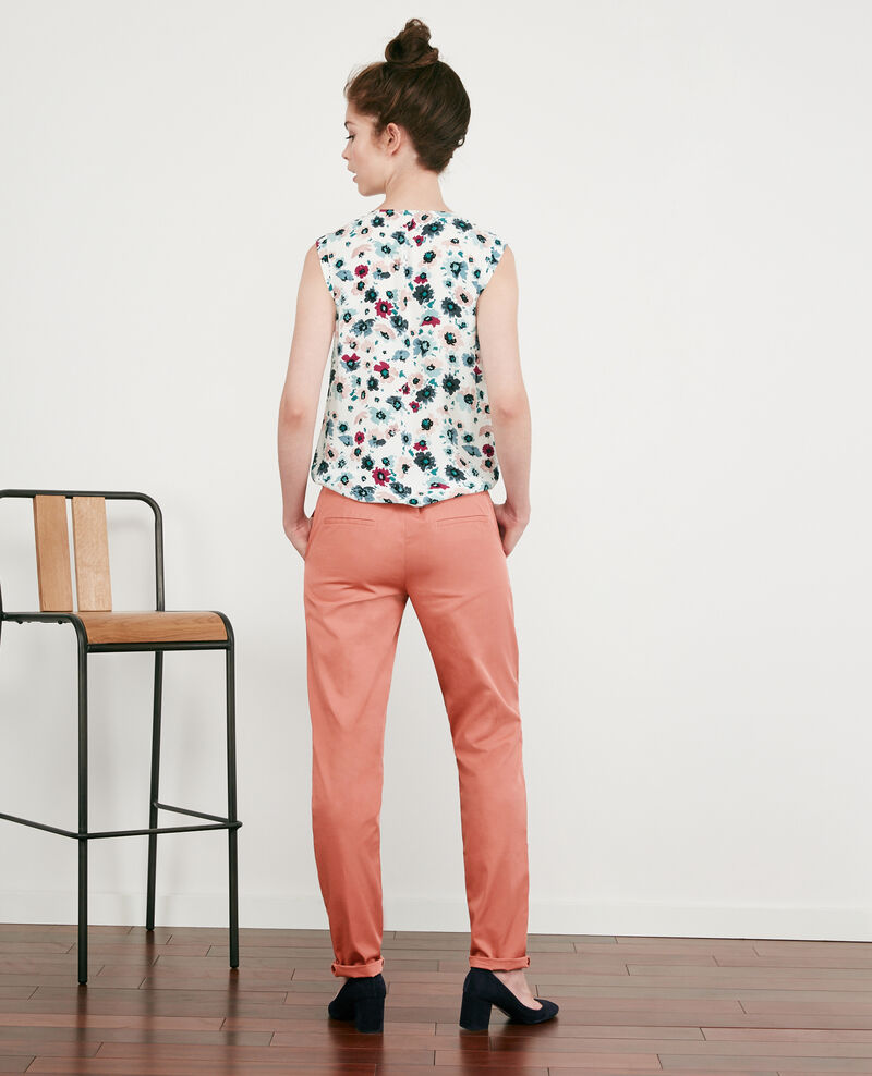 Pantalones chinos Rose clay Different