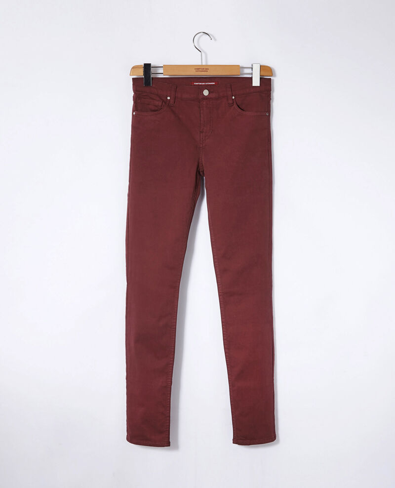 Jeans corte slim Decadente chocolate Goneto
