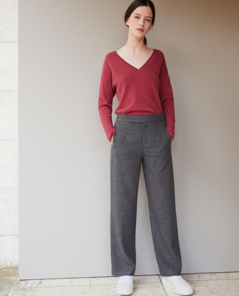 Pantalón grueso DARK HEATHER GREY