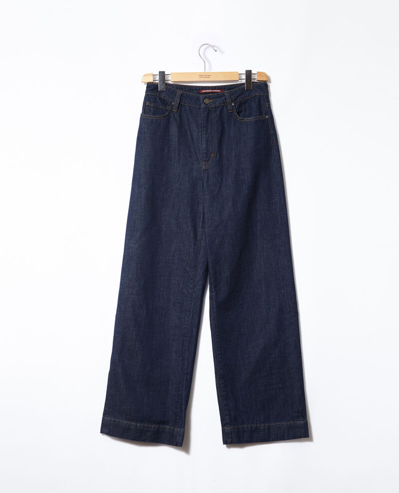 Jeans Wide full length Rinse Glin