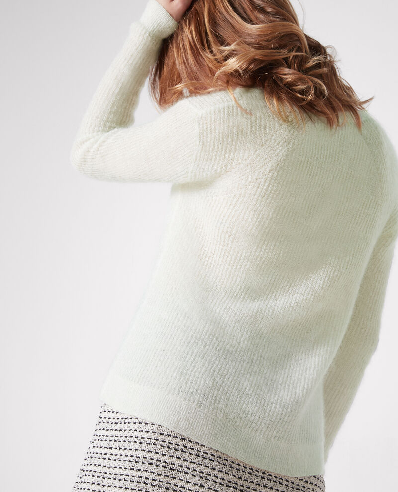 Jersey con lana y mohair Off white Cookie