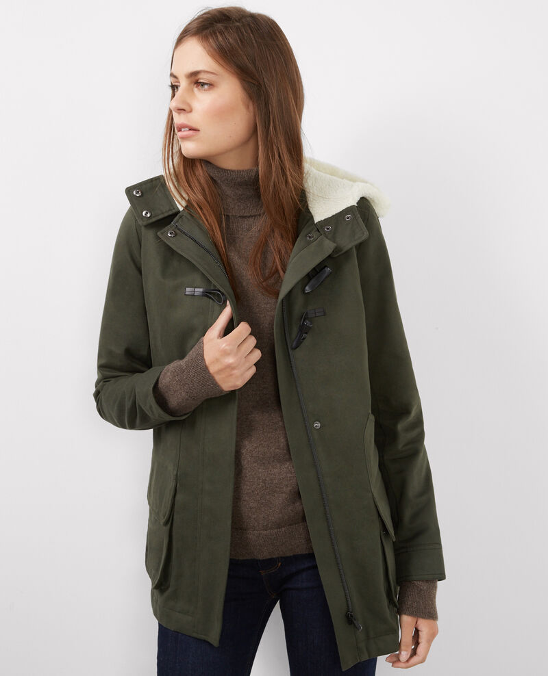 Parka de algodón Hunter green Besson