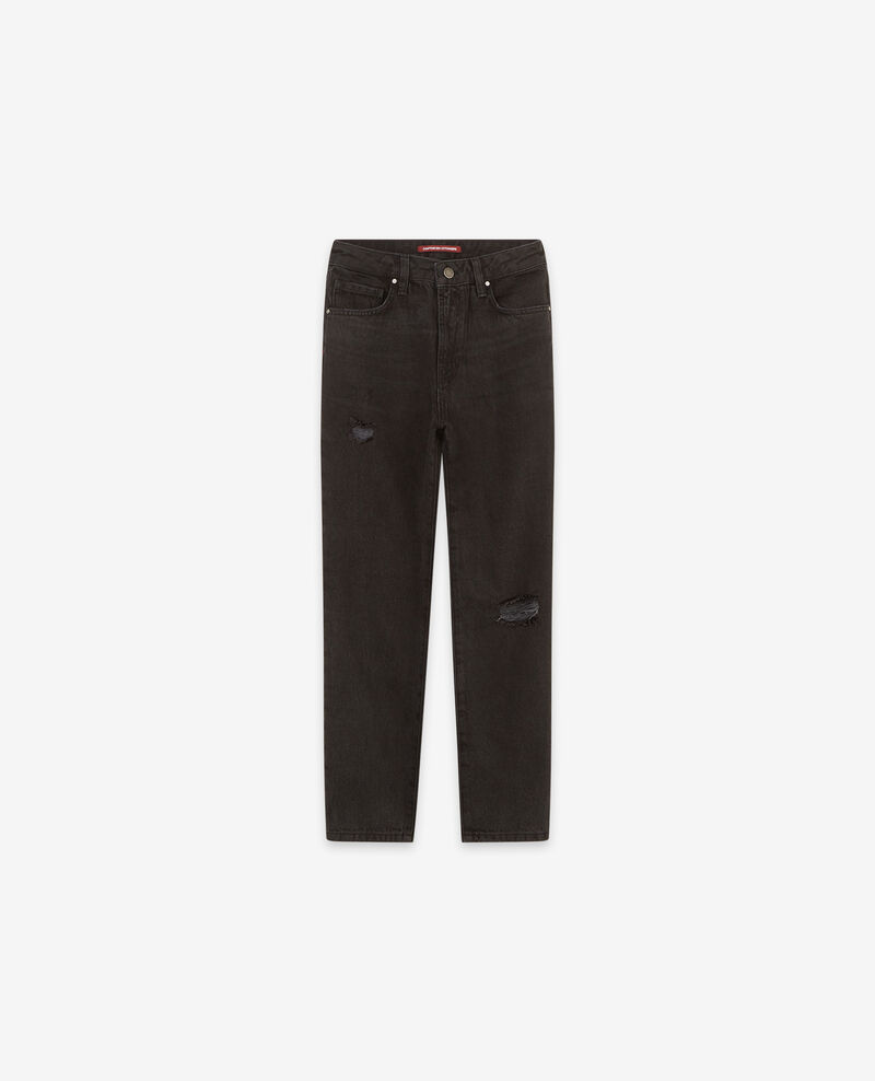 Jeans vintage Faded black Delois