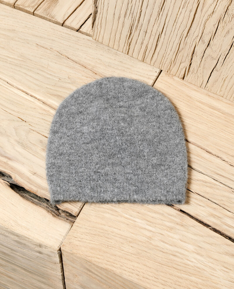 Gorro mullido HEATHER GREY