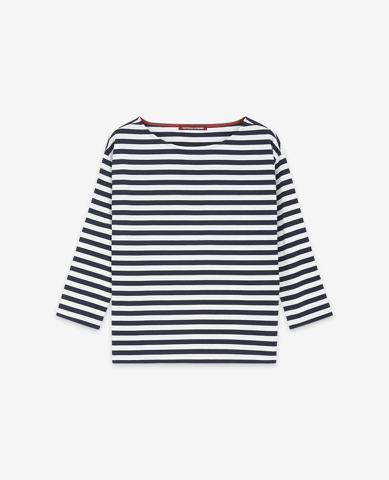 Camiseta marinera Navy/off white Ditoc