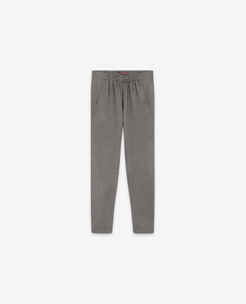 Pantalón de lana Light grey Dalray