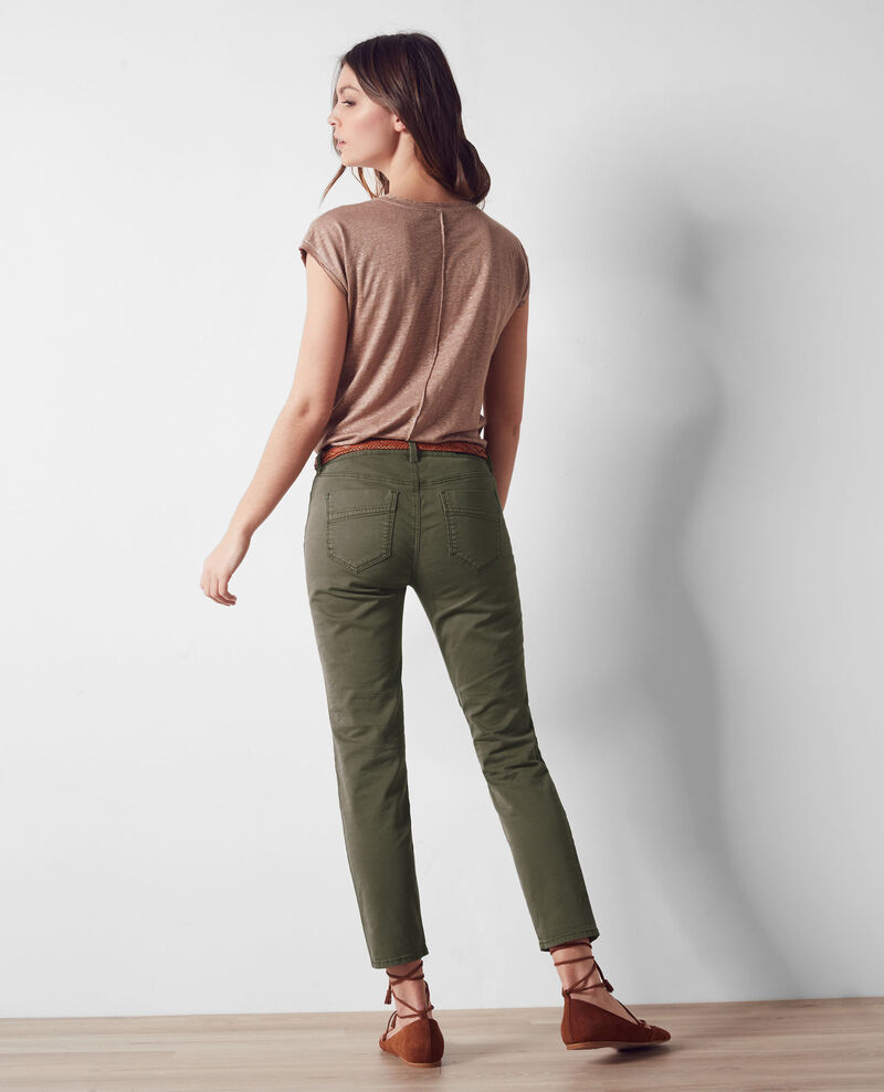 Jeans cropped Army Cagio