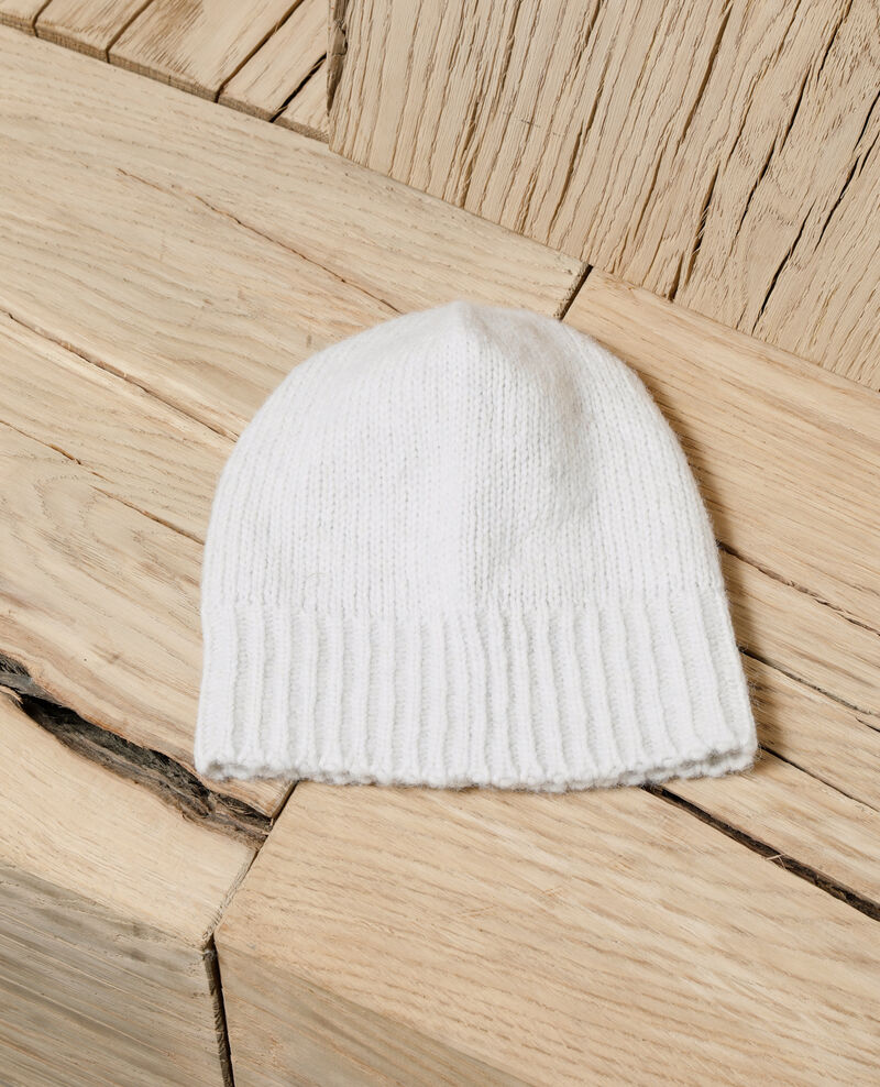 Gorro de punto OFF WHITE