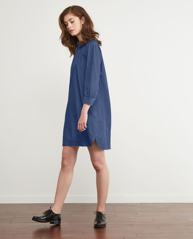 Vestido en denim Light denim Dampagne