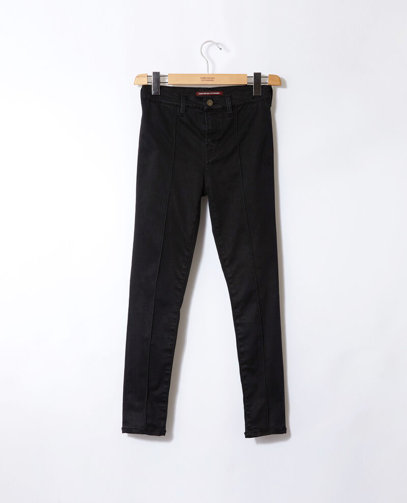 Jeans skinny cropped 7/8 Faded black Gireg