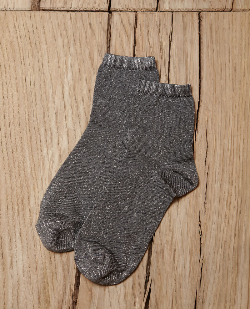 Calcetines con lúrex MEDIUM HEATHER GREY