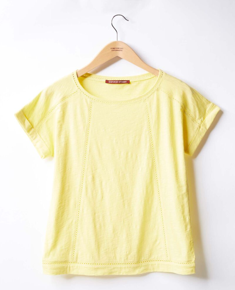 Camiseta con trencillas LEMONADE