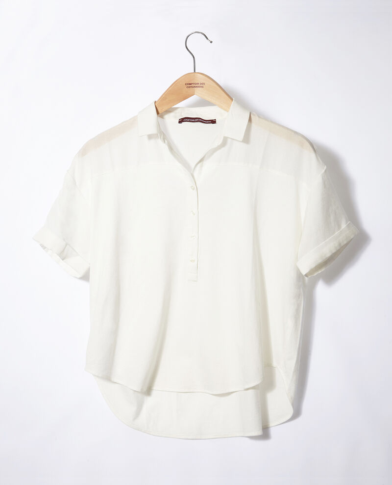 Camisa de doble tejido OFF WHITE