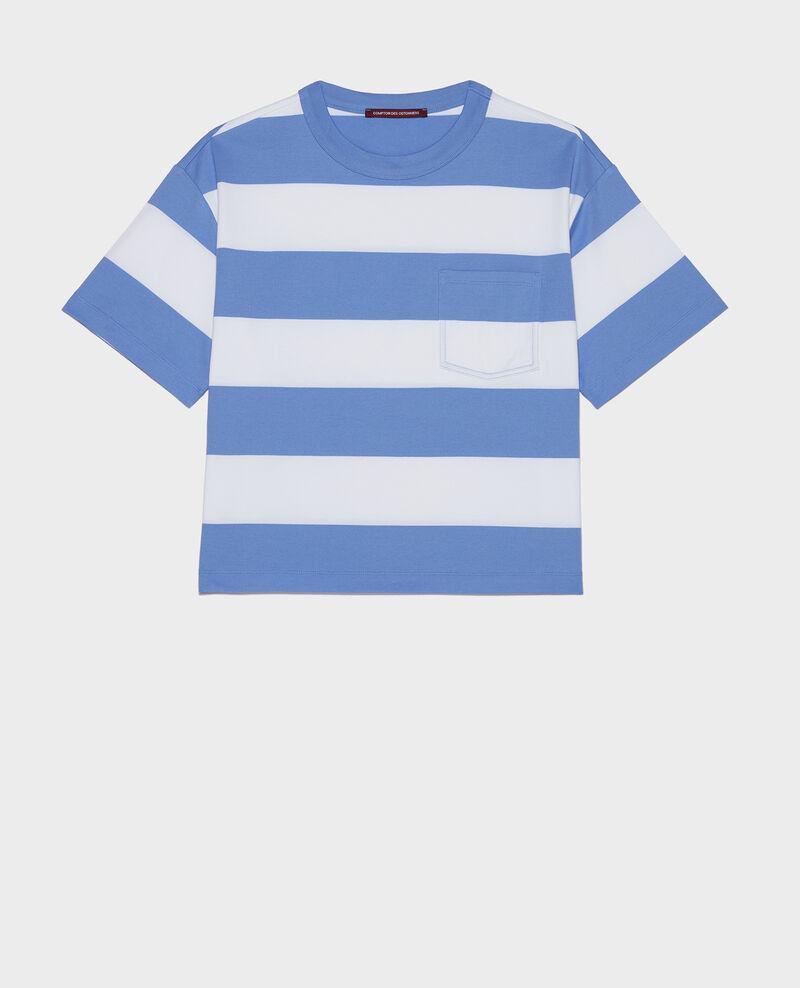 Camiseta rayada oversize Str opticalwhite persianjewels Lord
