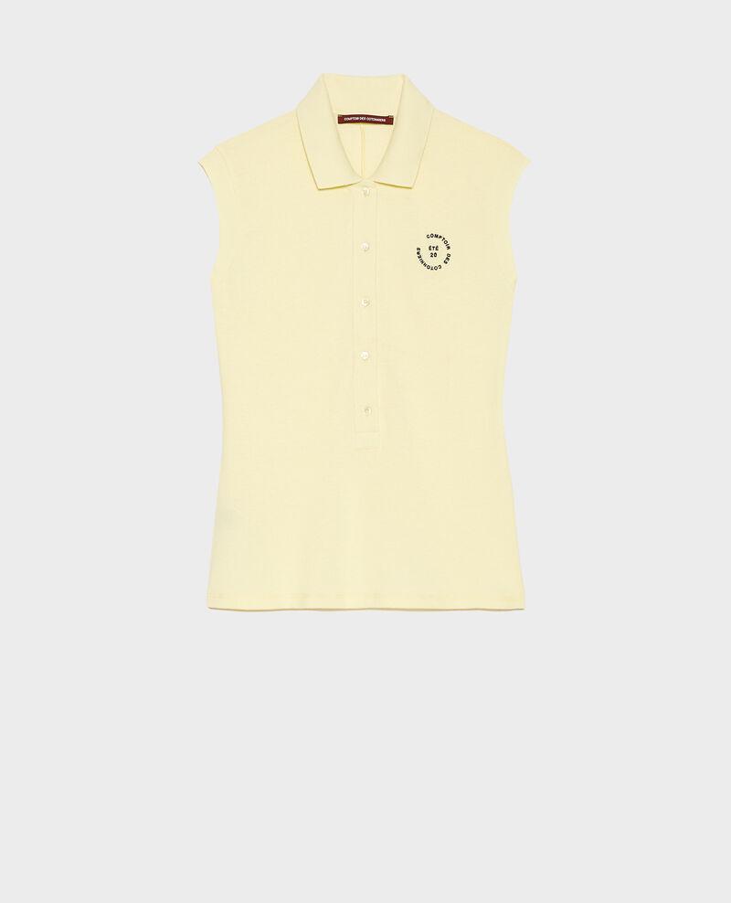 Polo de algodón Tender yellow Laurac