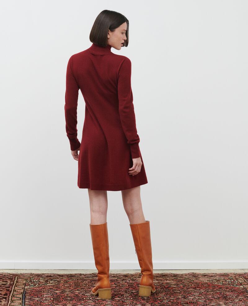 Vestido corto de cachemir 3D Cabernet Paulnela
