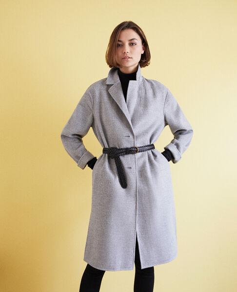 Comptoir des Cotonniers - Abrigo de doble cara Light grey - 1