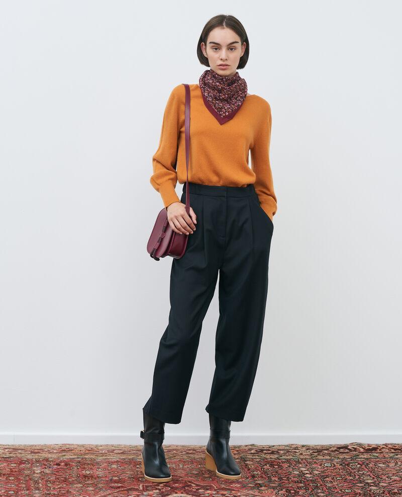 SYDONIE - BALLOON - Pantalón de pierna ajustada Black beauty Paluges