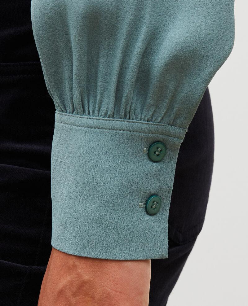 Camisa de manga larga con cuello atado  Treillis Meyrala
