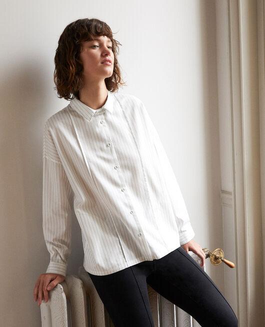Camisa de corte recto Blanco