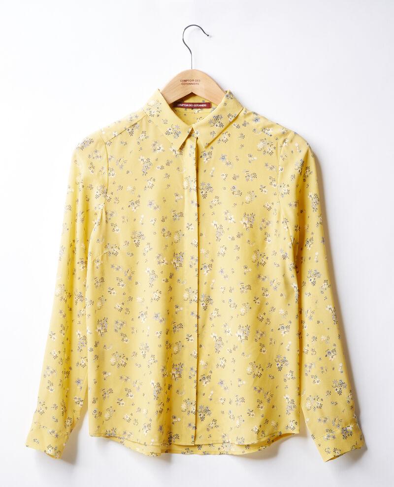 Camisa de seda estampada Lillybell lemon Follower