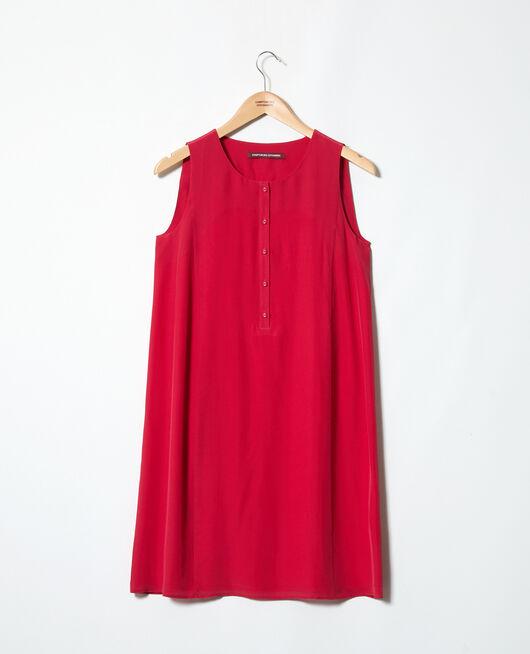 Vestido de cuello redondo FUSHIA