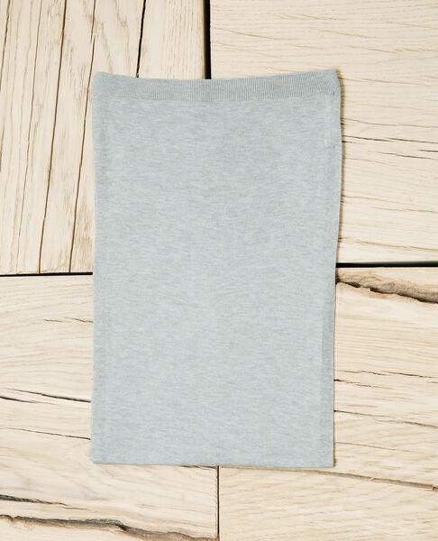 Comptoir des Cotonniers - Bufanda de lana Heather light grey - 2