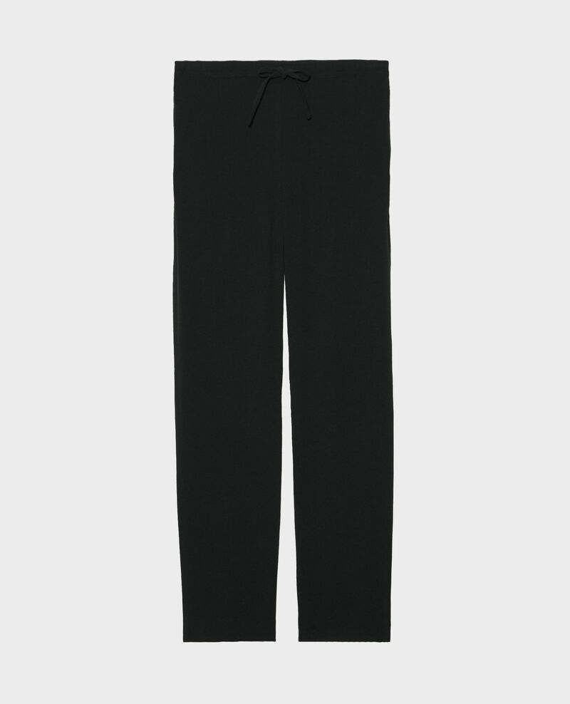 Pantalón tapered estilo sastre Black beauty Marca