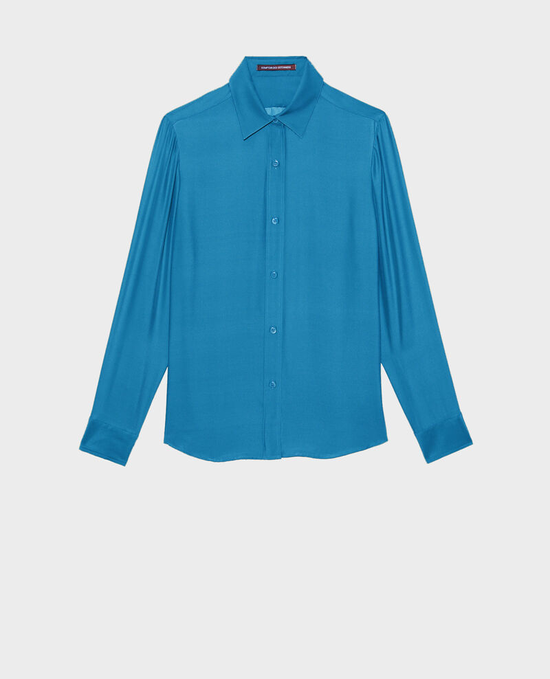 SIBYLLE - Camisa masculina de seda Faience Noriges