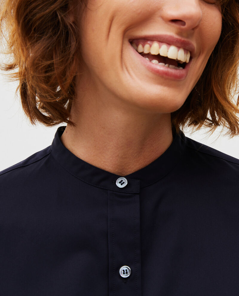 Camisa de algondón con cuello rendondo Night sky Mannion