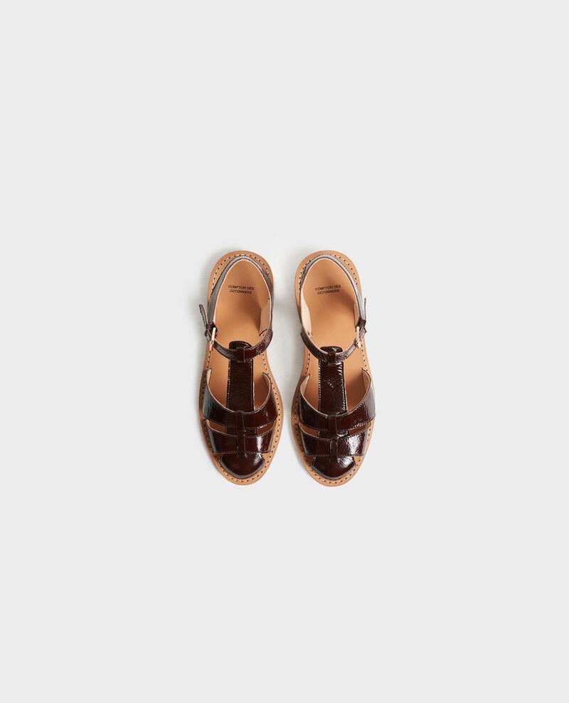 Sandalias de charol Mole Lapiaz