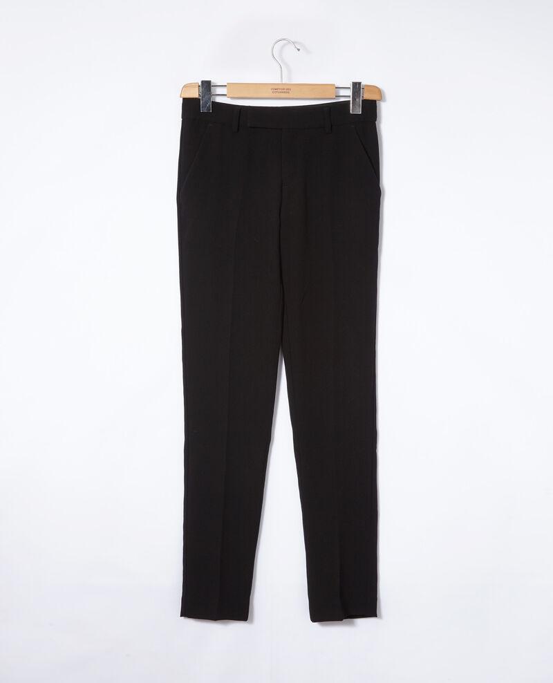 Pantalón tipo sastre Negro Gersende