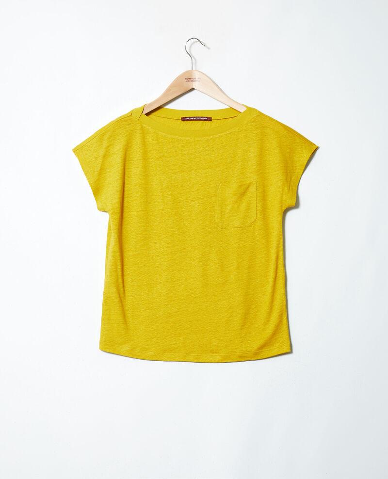 Camiseta de cuello barco Antique moss Jinolita
