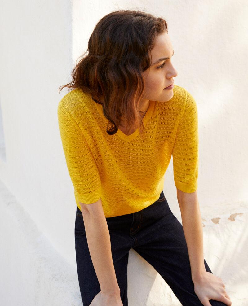 Camiseta de punto Spice yellow Ishirt