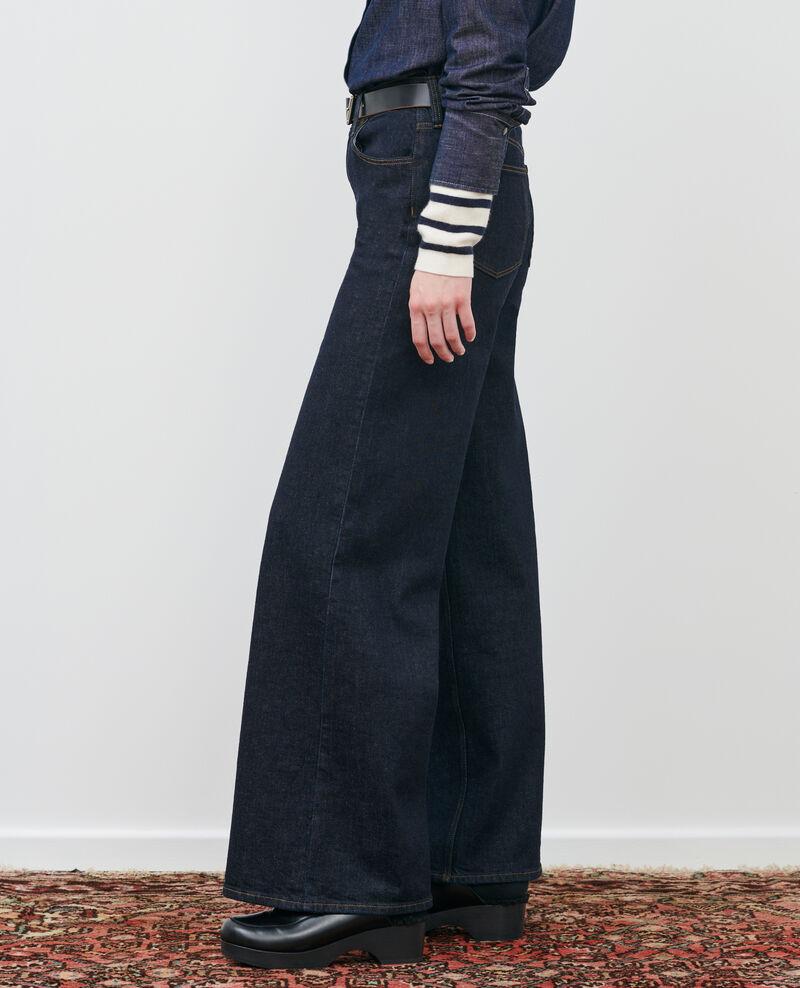 JEANETTE - FLARE - Jeans de talle alto Rinse Peuplize