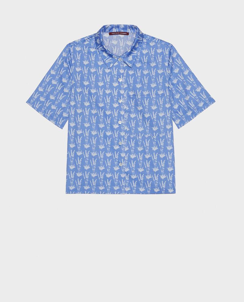 Camisa de algodón Moyen lavande persian jewel Lavale