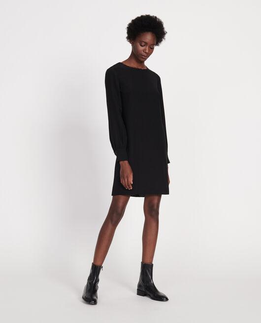 Vestido de seda BLACK BEAUTY