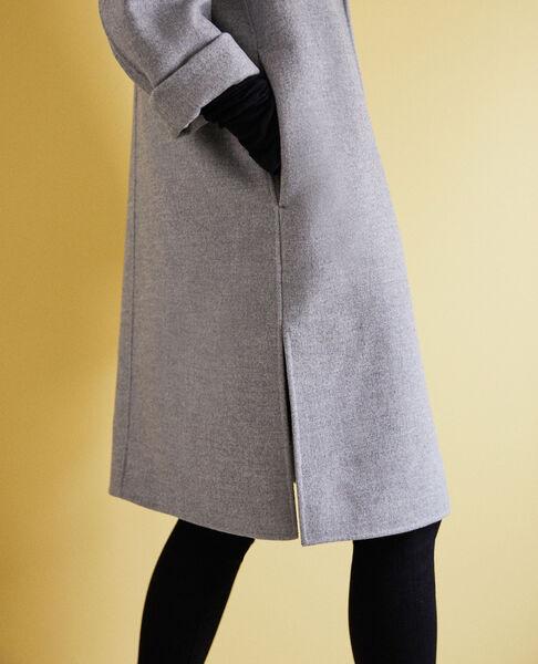 Comptoir des Cotonniers - Abrigo de doble cara Light grey - 7
