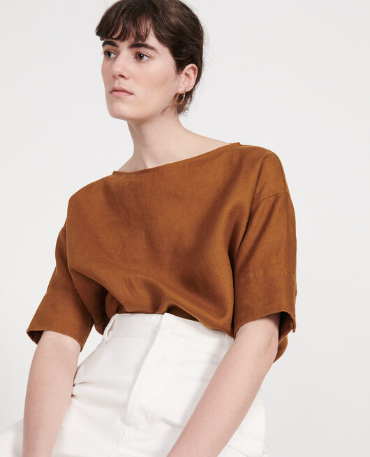 Blusa de lino MONKS ROBE