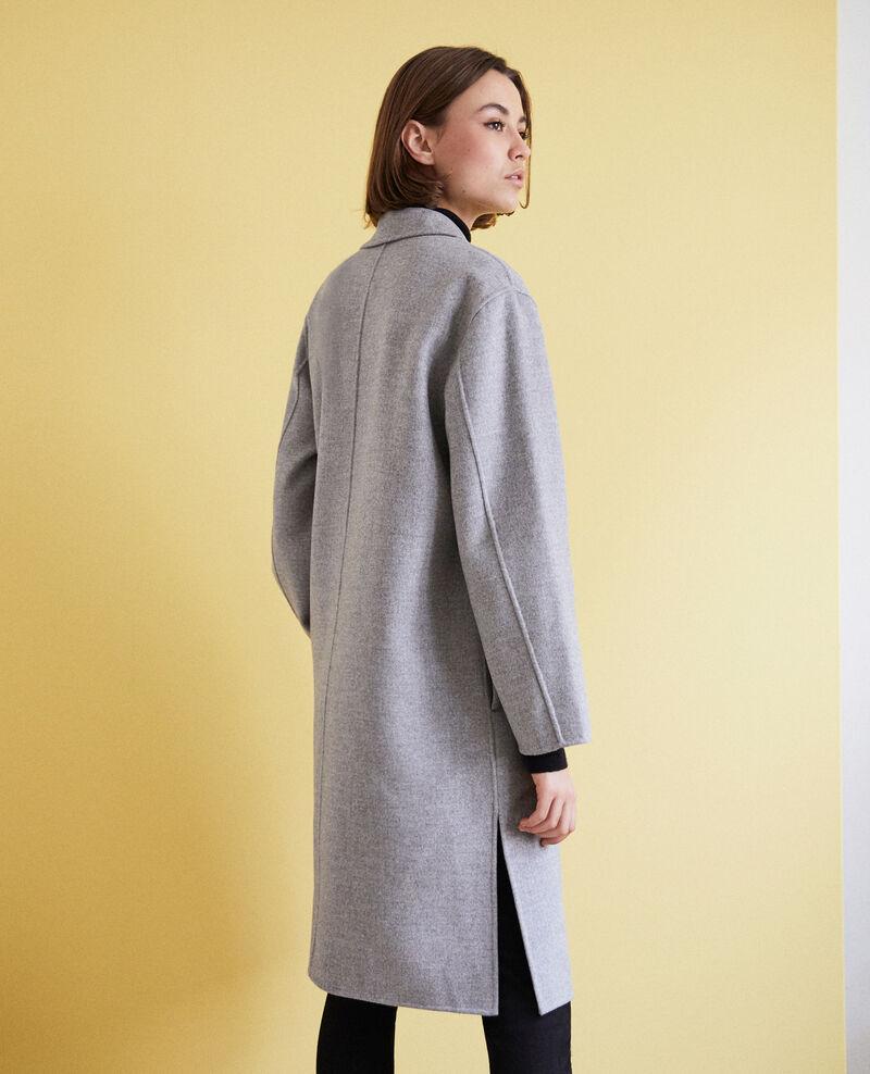 Abrigo de doble cara Light grey Irelie