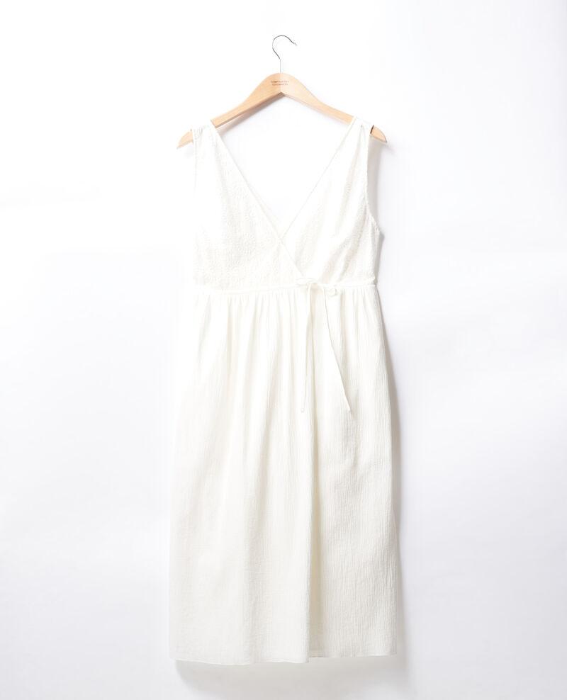 Vestido cruzado Blanc Filo