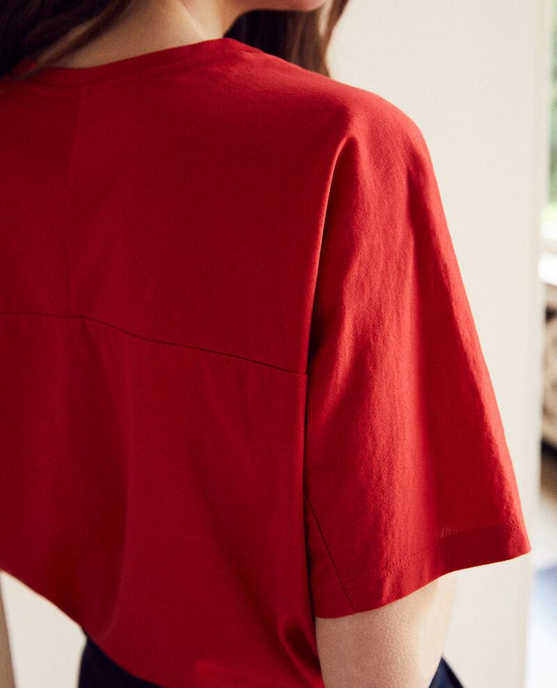 T-shirt en coton Molten lava Jokari