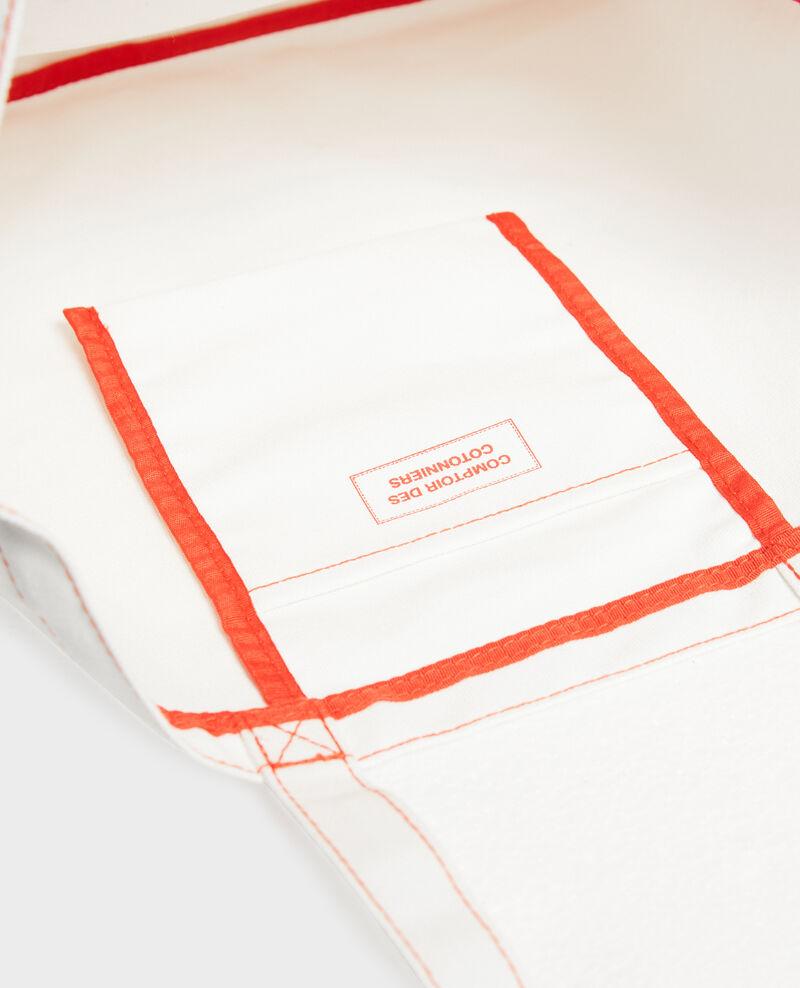 Bolso de tela estampada Valiant poppy Marisienne
