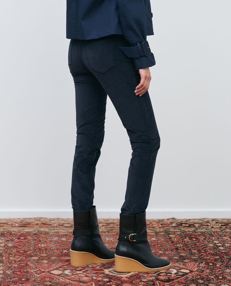 LILI - SLIM - Jeans 5 bolsillos Night sky Pavelt