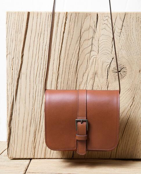 Comptoir des Cotonniers - Bolso de cuero Camel - 2