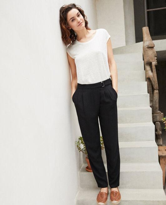 Pantalón estilo árabe  Negro