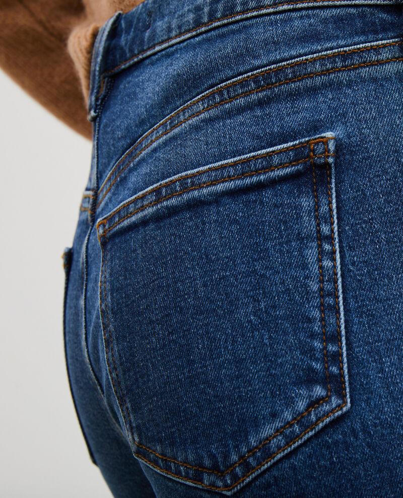 SLIM MID RISE - Jeans 5 bolsillos Denim medium wash Mandro