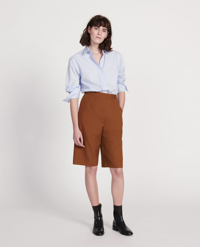 Camisa clásica de popelina Heather Lynda