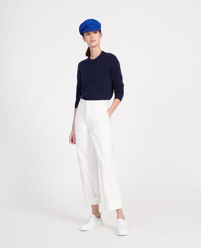 Jersey de lana atemporal Maritime blue Logan